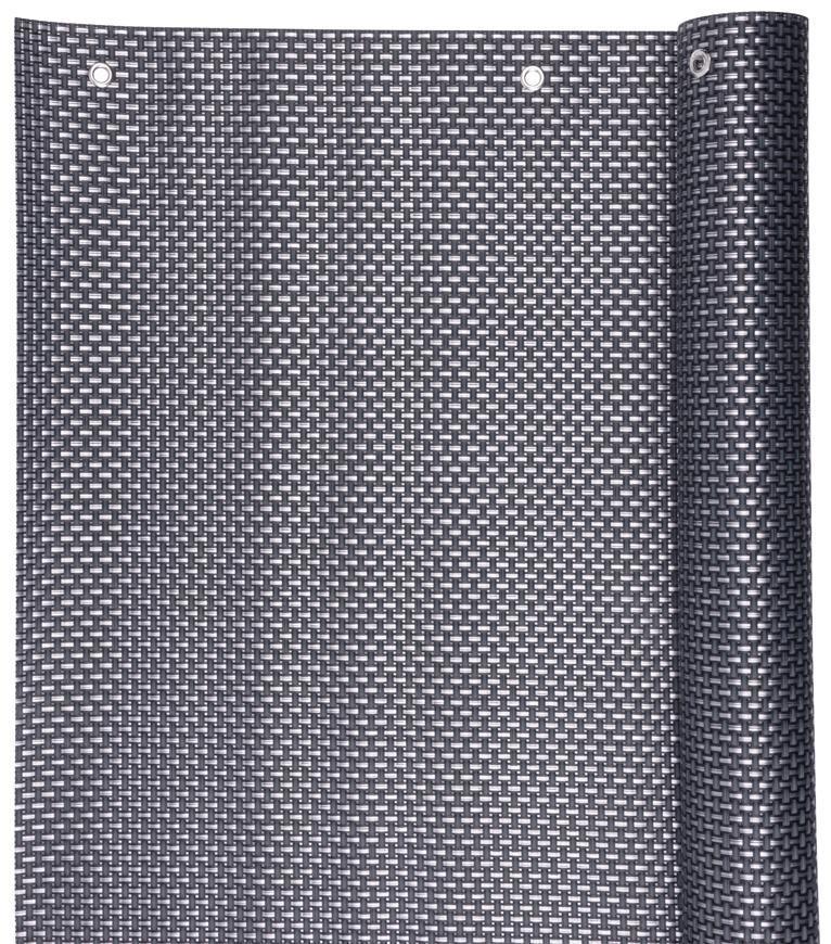 Zastena Polyratan 77 0,9x3 m, UV, 800 g/m2, antracit, balkónová