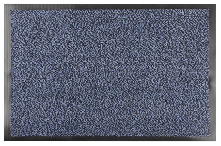 Rohožka MagicHome CPM 305, 40x60 cm, čierna/modrá