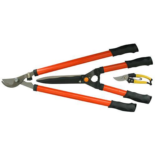 Sada nožníc Strend Pro SX B03, na živý plot, krovie a konáre