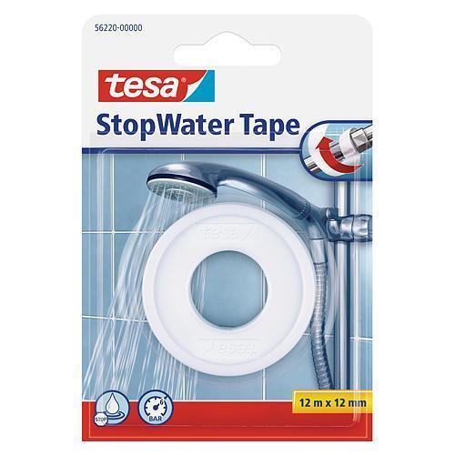 Páska tesa® StopWater, teflónová, biela, 12 mm, L-12 m