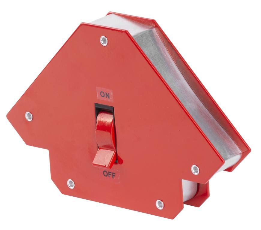 """Držiak Strend Pro QJ6007 magnetický, uhlový, s vypínačom, 3-3/4""""x3-3/4""""x1"""", max.12 kg, ON/OFF"""