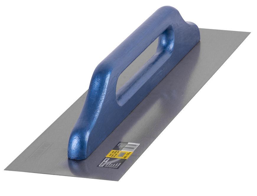 Hladítko 0812.029CS 480x130 mm, wBlueHand, rovné, oceľ, drev. rúčka