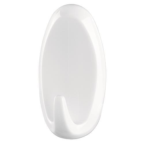 Háčik tesa® Powerstrips®, biely, oválny, max. 2 kg