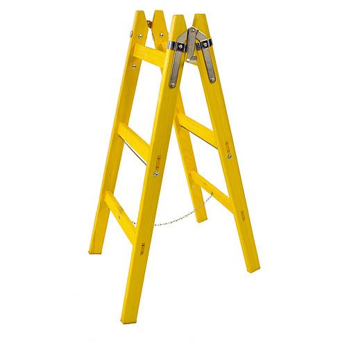 Rebrík DRD MA 7 priečkový, 227 cm, maliarsky, drevený