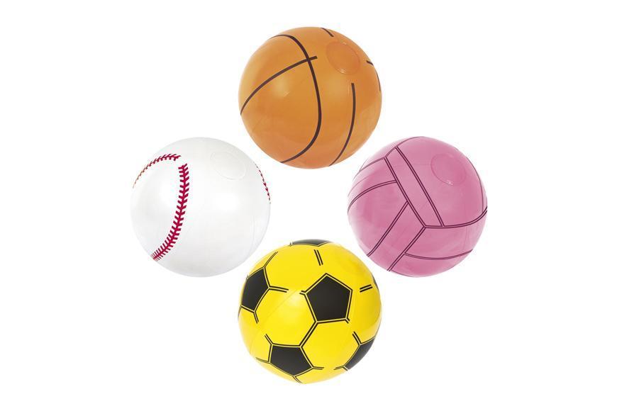 Lopta Bestway® 31004, Sport Beach Ball, detská, nafukovacia, do vody, 410 mm