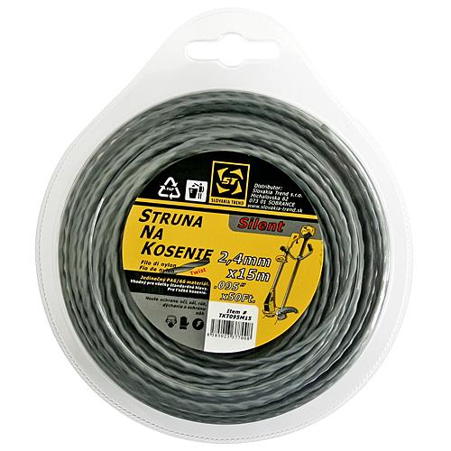 Silon TwistSilent Professional 2,4 mm L-15 m