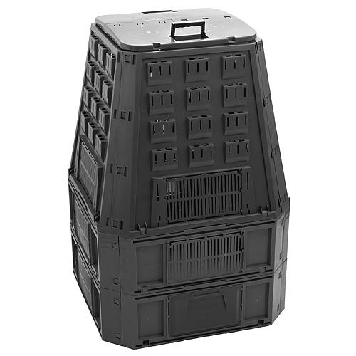 Komposter EVOBLACK, 850 lit, čierny