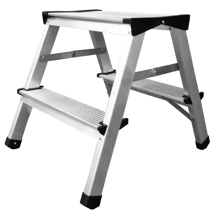 Schodiky Strend Pro DD4, 2x4, max. 125 kg, ALU, obojstranné