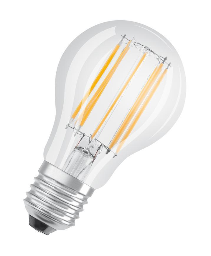 Ziarovka OSRAM® LED FIL 100 (ean8621) non-dim, 11W/840 E27 4000K Value CLASSIC A