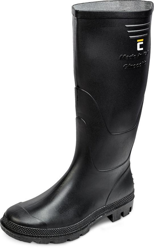 Čižmy boots Ginocchio, čierna 43, Pvc, záhradné