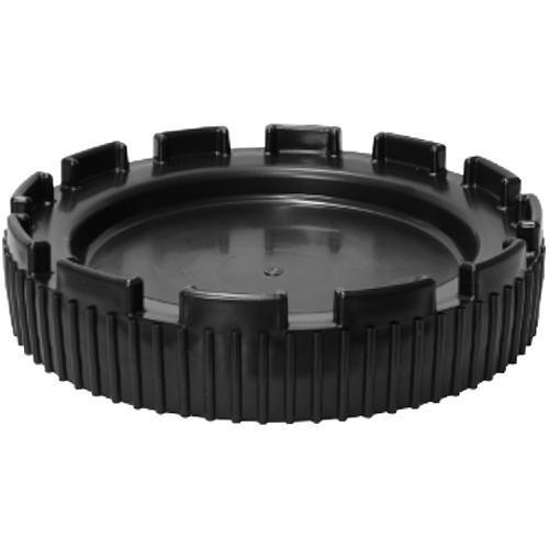 Veko na barel JPP U-KOSH-50, čierny, širokohrdlý