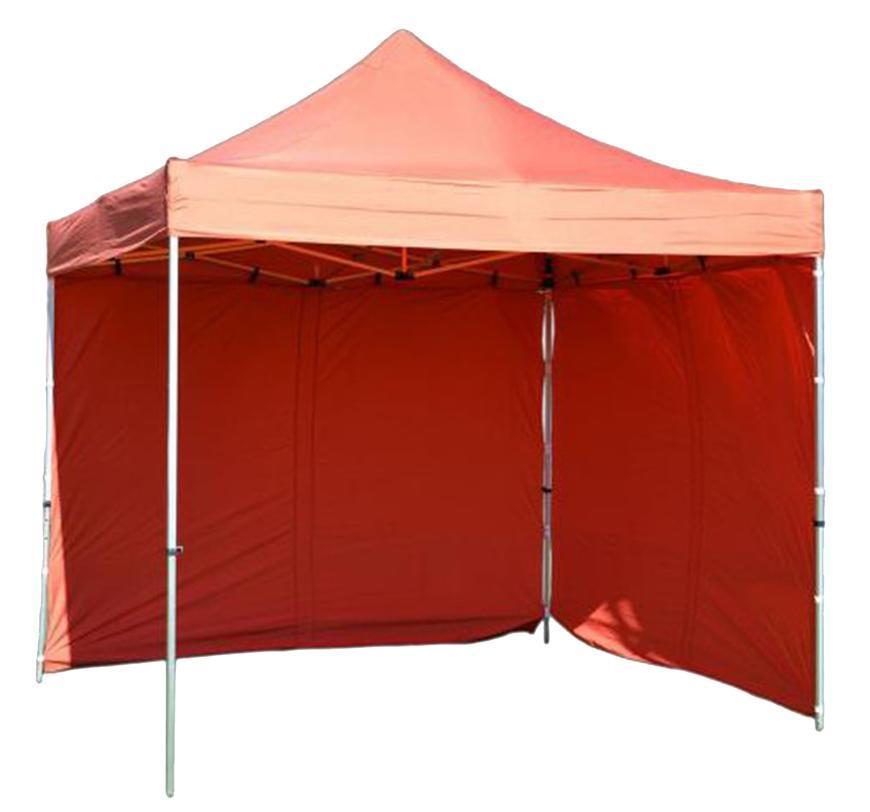 Stan FESTIVAL 60, 3x6 m, červený, profi, plachta UV odolná, bez steny