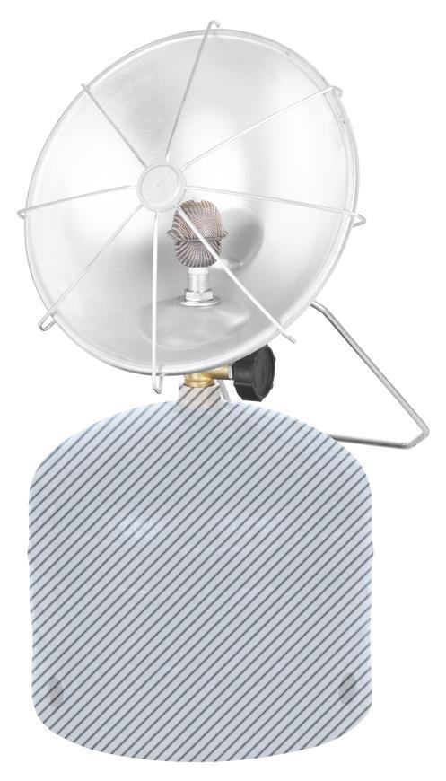 Teplomet Meva ARDENT 2171, plynový ohrievač na 2 kg PB fľašu, 1,1 kW