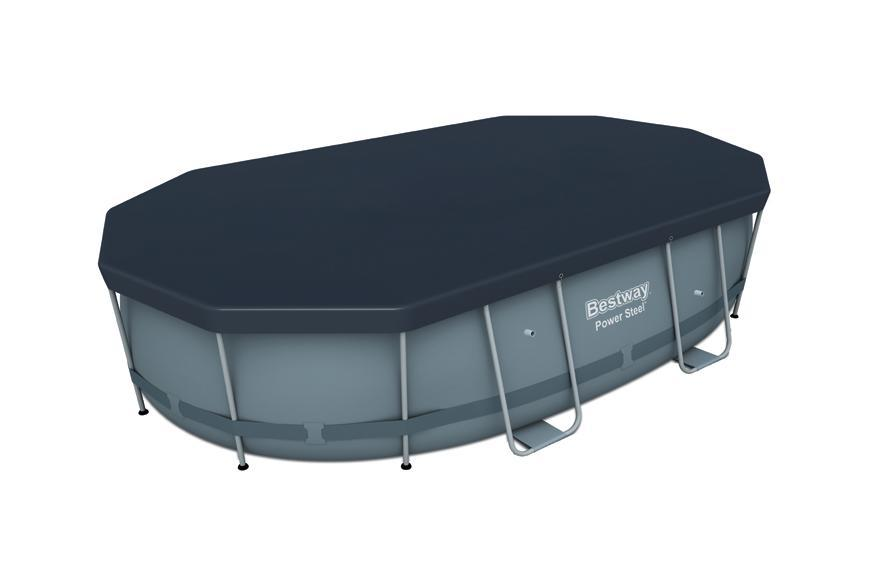 Plachta Bestway® FlowClear™, 58425, 418x230 cm, bazénová