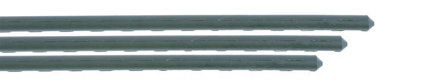 Tyč Garden SB 11/1200 mm, oceľ/plast, zelená, oporná k paradajkám