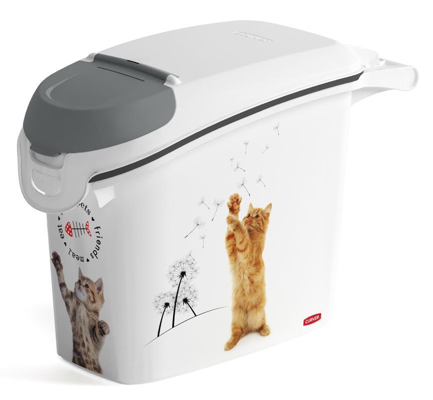 Nadoba Curver® PETLIFE 15L, na krmivo pre mačku