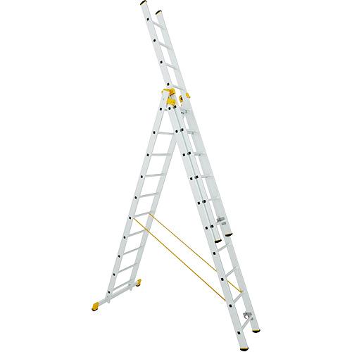 Rebrík ALVE 8610, 3x10, univerzálny, A299 B695