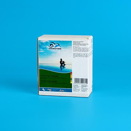 Prípravok Chemoform 0908, Vločkovacia kartuša, 8x125 g
