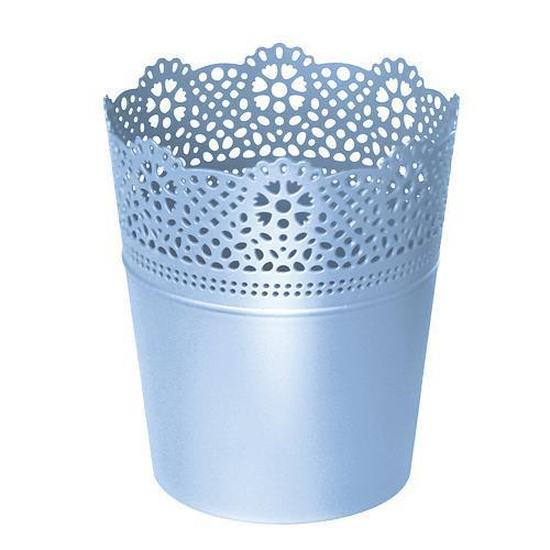 Kvetináč LACE 160 mm, modrý