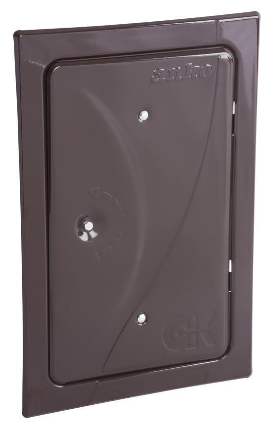 Dvierka Anko C2.2B 160x280 mm, komínové, hnedé, revízne