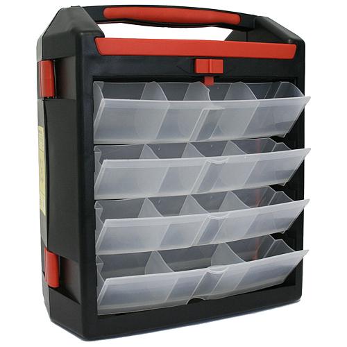 Kufríkový organizér Strend Pro BBx3027, 30 zásuviek, max. 12 kg