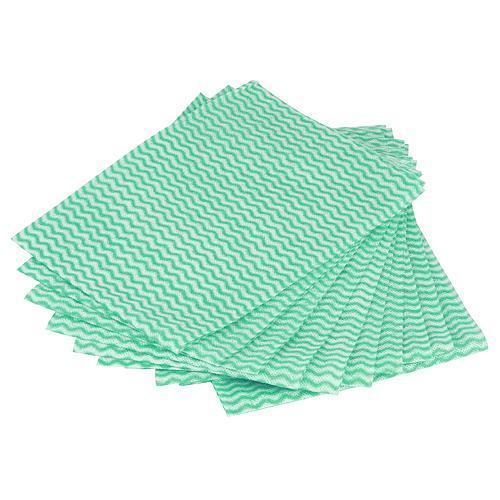 Utierka Cleonix DC0140, zeleno-biela, bal. 10 ks