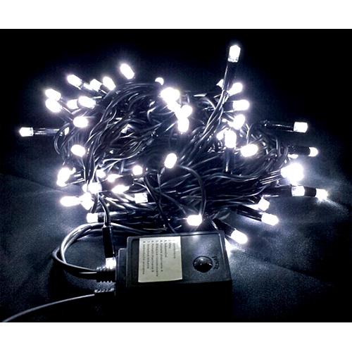 Retaz MagicHome Andromeda, 100L LED biela, 10 m, 8 funkcií, interiér, 230V