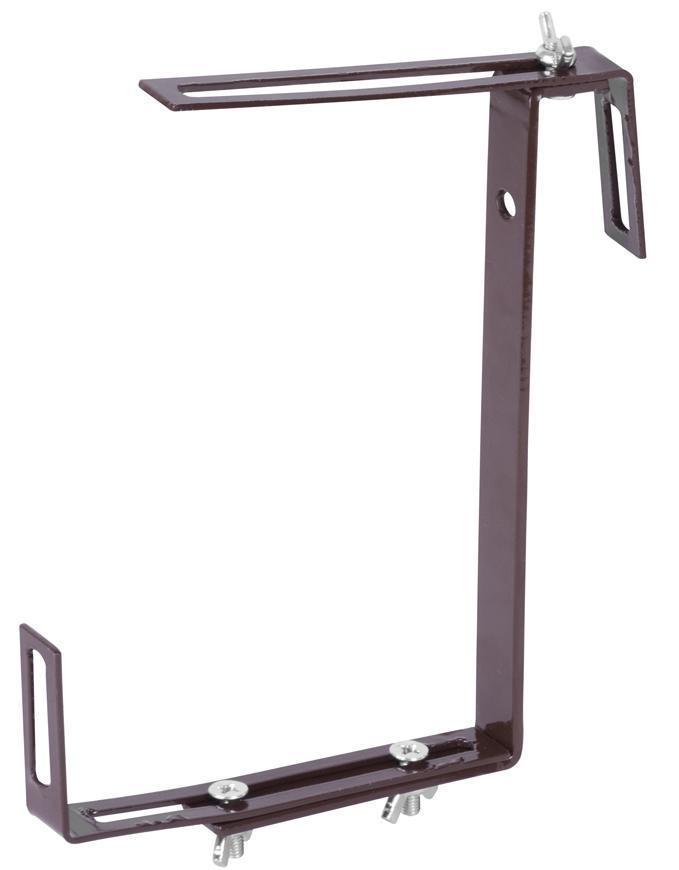 Vesiak Strend Pro, terakota, na kvetináč truhlík, držiak kovový, bal. 2 ks
