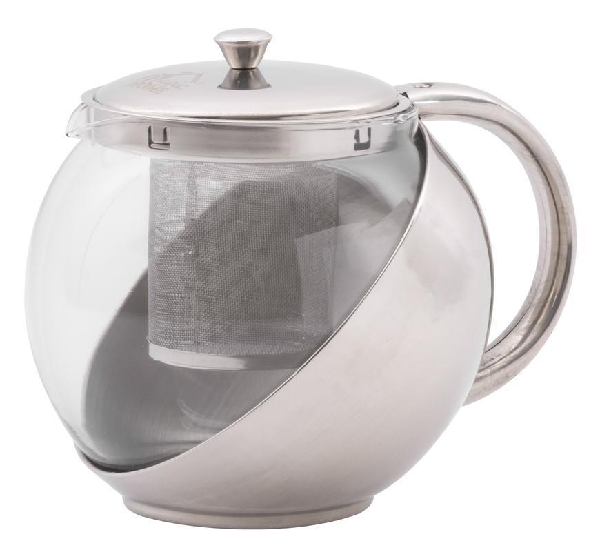 Čajník MagicHome TP108, 1.1 lit, sklo/nerez