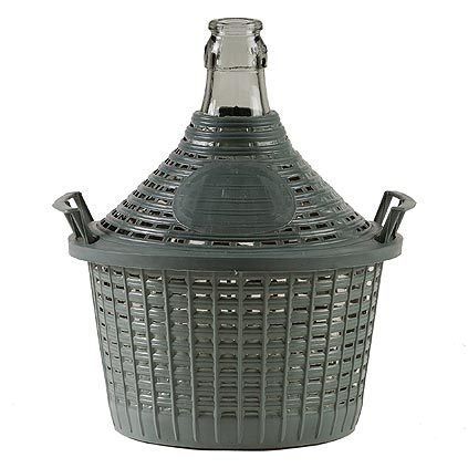 Demizon Cada Inco 05 lit, sklo/plast, 320x250/200 mm