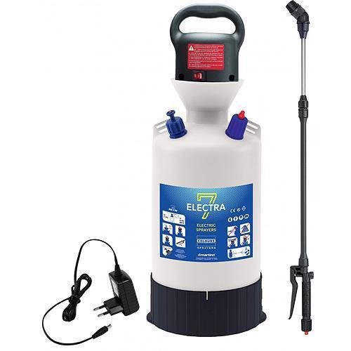 Postrekovač dimartino® ELECTRA 7, elektrický, na plece, 12V