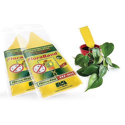 FloraBand®, lepové šipky na ochranu rastlín pred škodcami, Poison-Free (NAHRADA 090064)