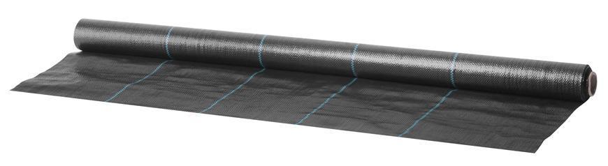 Textilia Garden H1101 1,0x10 m, 100 g/m2, tkaná, čierna