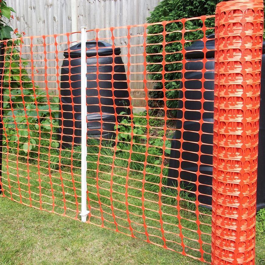 Plastová vyznačovacia sieť BARRIER.NET, oranžová, 1,0 m, L-30 m, UV, HDPE
