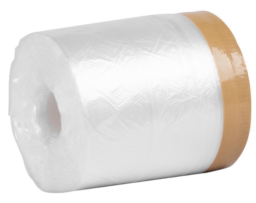 Fólia krycia Strend Pro, 550 mm, L-35 m, PE, s látkovou lepiacou páskou