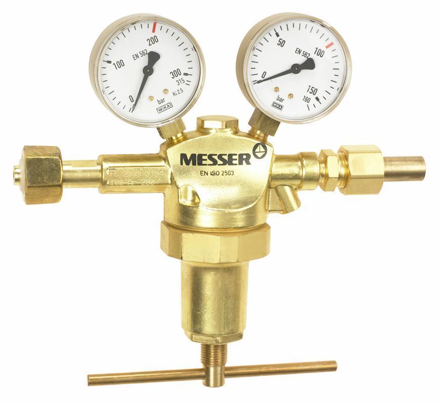 "Ventil Messer 717.05525*, G1/2"", 100 bar, Ochr. a vzacny plyn"