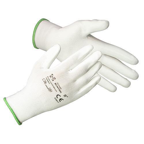 Rukavice ST BROTULA White 10 (XL) záhradné, biele