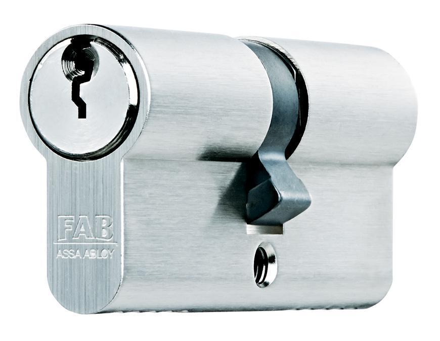 Vlozka cylindrická FAB 200RSBDNm/40+40 , 3 kľúče, stavebná