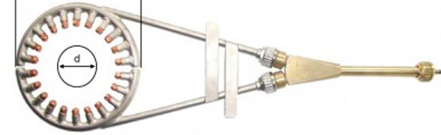 Nastavec Messer 716.10509, Star RKF-A d=100mm, 680mm, kruhovy