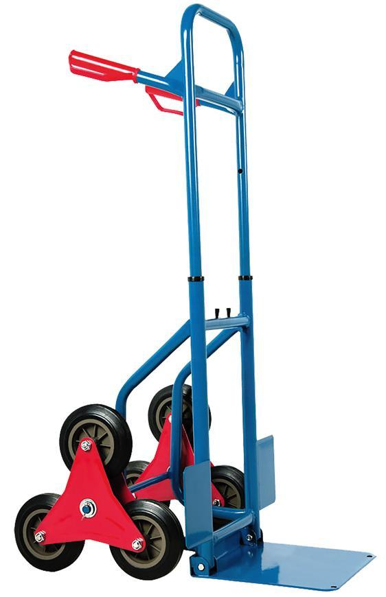 Vozik HT2086, rudľa na vrecia, max. 180 kg, na schody