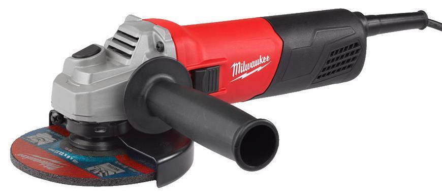 Bruska Milwaukee® AG 800-125 E, 125 mm, 800W, uhlová