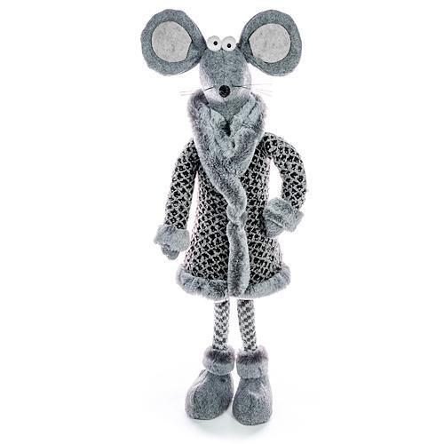 Dekorácia MagicHome Vianoce, Myšky stojacie, 50 cm