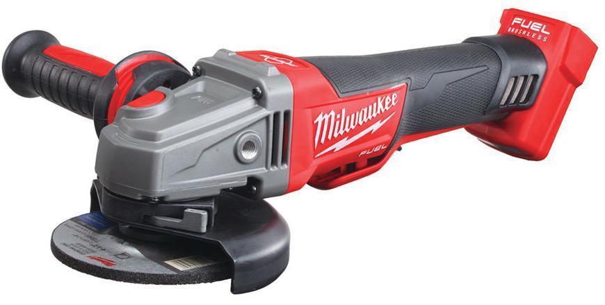 Bruska Milwaukee® M18 CAG125XPDB-0X, bez aret., uhlová