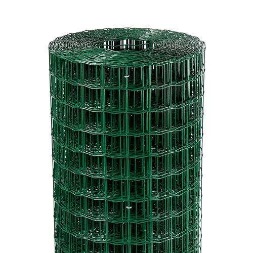 Pletivo EUROPLAST 3, 1000/50x50/2,20 mm, zelene, RAL 6005, Zn+PVC, ohradove, bal. 25 m