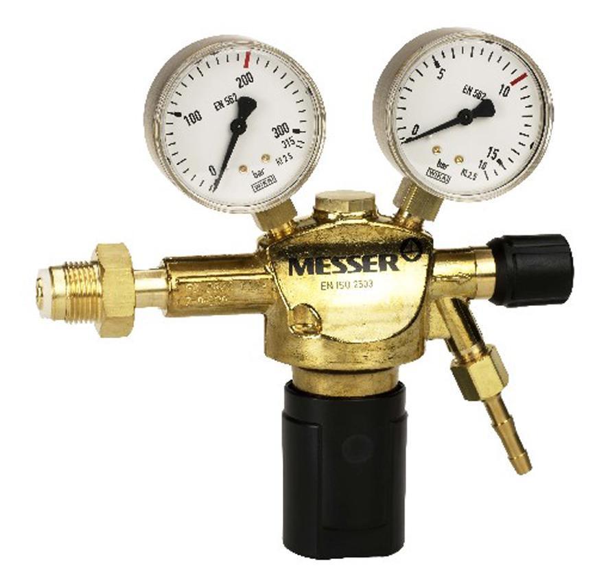 "Ventil Messer 717.00517, G1/4"" DN6, 50 bar, Stlaceny vzduch"