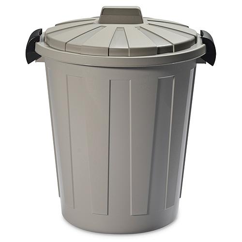 Kôš DEAhome Ladybin 60 lit, šedý, na odpad