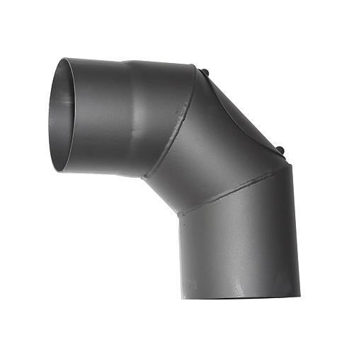 Koleno HS.CO 090/160/2,0 mm, s čistiacim otvorom