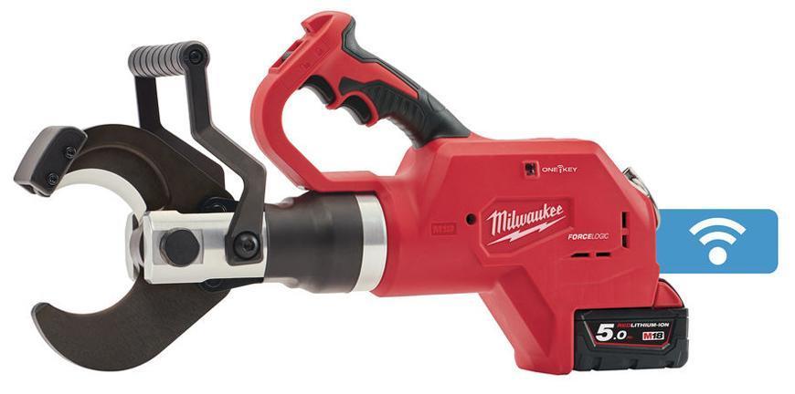 Noznice Milwaukee M18 HCC75-502C, hydraul., na kable 75mm