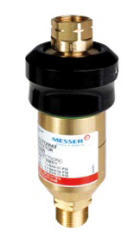 Predloha Messer 0.463.650, DS2000 • G 3/8 LH, Hor. P., 5bar/6m3/h