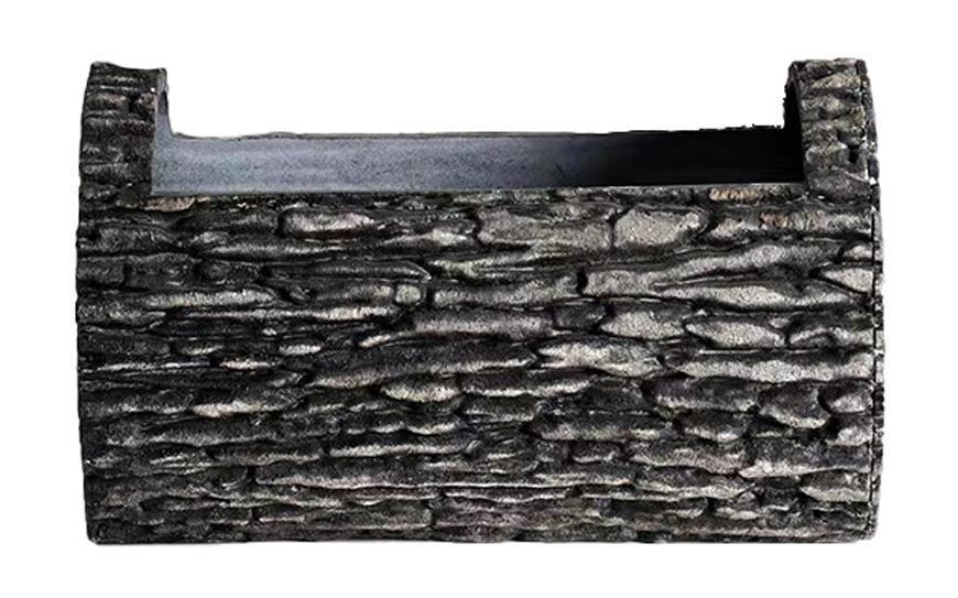 Kvetinac GDA Woodeff 840, walnut, 34,5x22 cm, truhlík, kmeň